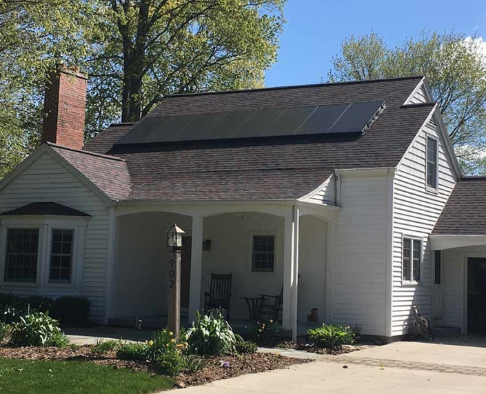 home with solar Maple-Bluff---8.34kW