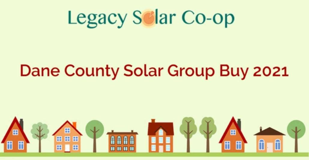 Dane County Solar Group Buy 2021